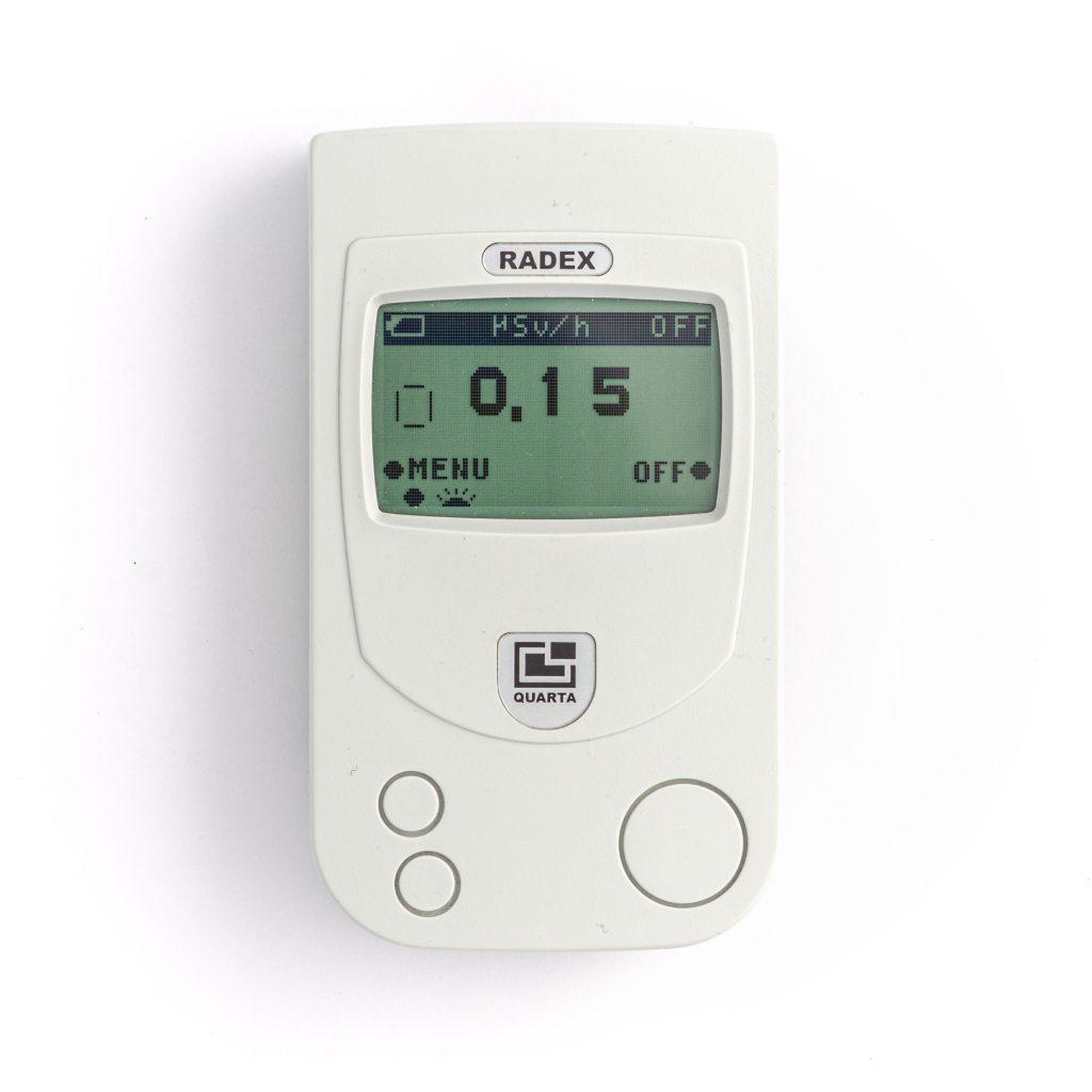 Vuokraa säteilymittari, RADEX RD1706 Dual-Pro Professional dual-sensor Radiation Detector